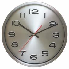 Zegar aluminiowy z metalową tarczą #2