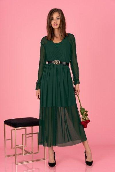 Sukienka damska merribel mariedam dark green