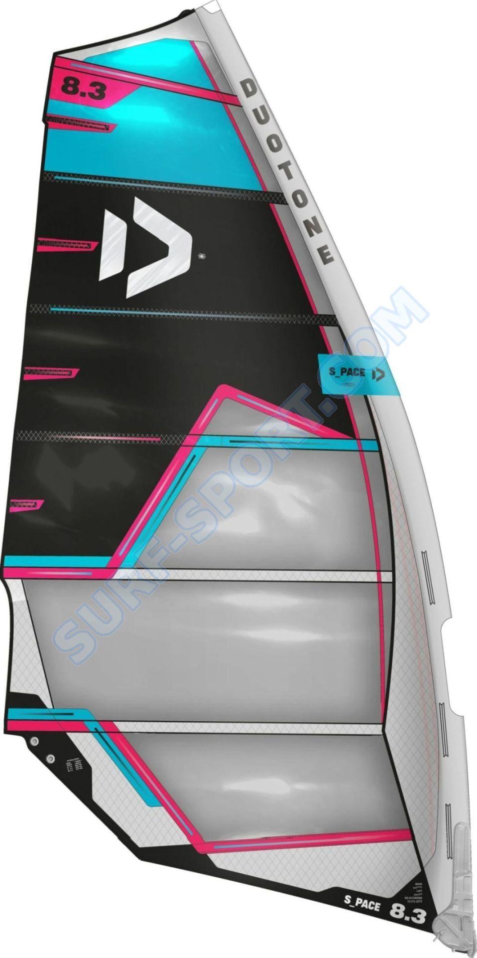 Żagiel Windsurfingowy Duotone S-Pace 2021 Cam Sail C24:Blue/Black )