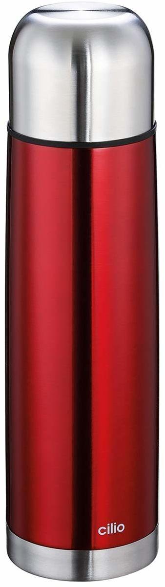 Cilio COLORE termos ze stali nierdzewnej, czerwony, jeden rozmiar