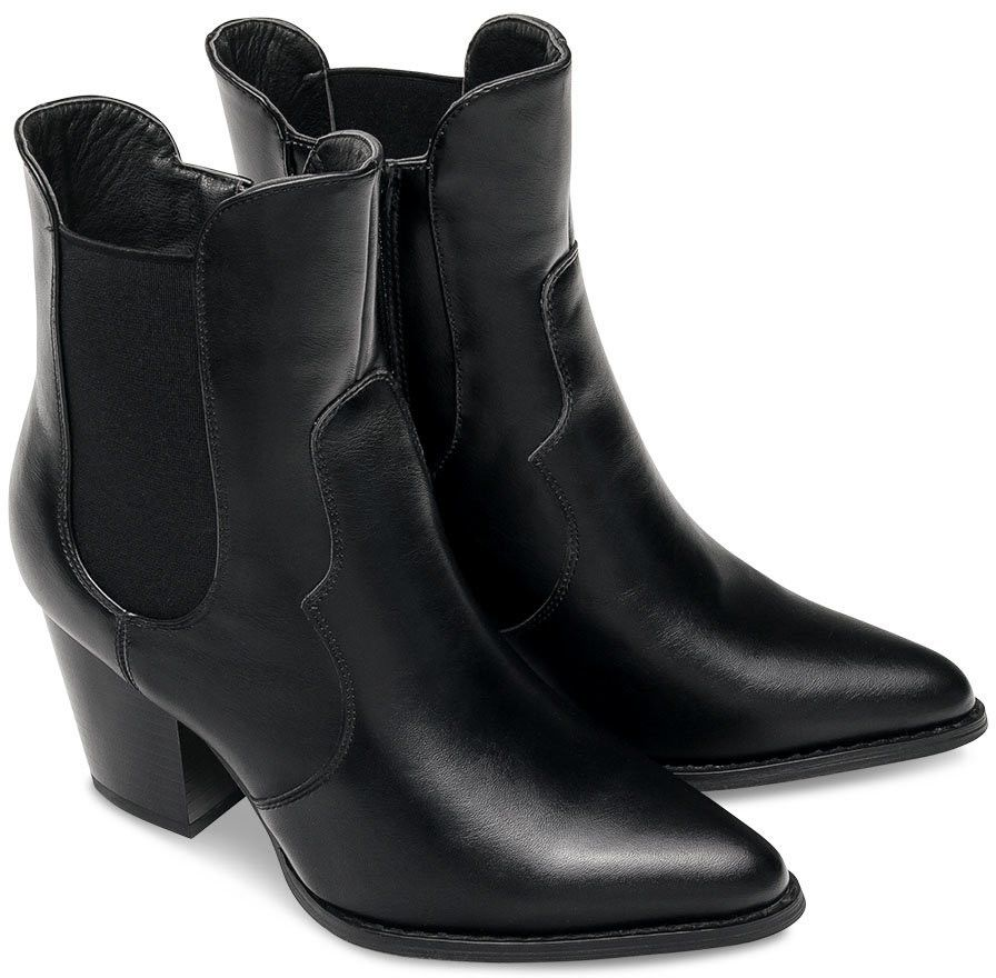 Kowbojki damskie Super Mode 1401 Czarne