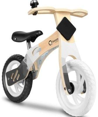 Lionelo Willy Air Indygo drewniany rowerek biegowy