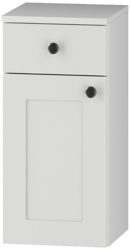 Szafka łazienkowa SENJA D30 S/1 P/L z blatem biała