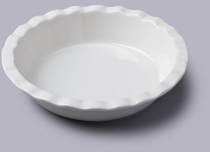Standardowe naczynie do zapiekanek typu pie