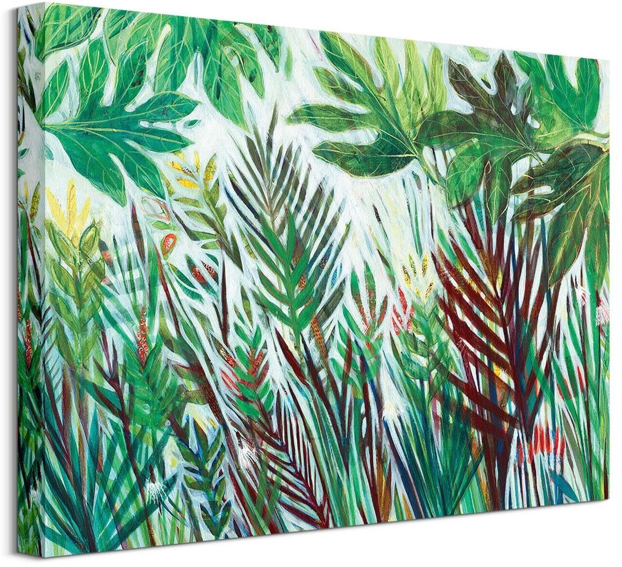 Zielona dżungla - obraz na płótnie
