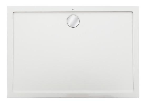 Roca Aeron brodzik prostokątny 140x90x3,5cm biały + syfon A276296100