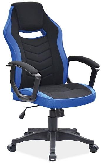 Fotel obrotowy CAMARO niebieski/czarny gamingowy