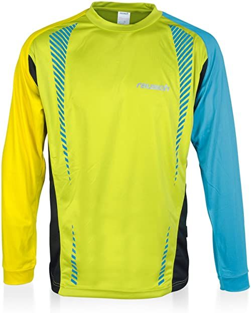 Reusch Batos koszulka z długim rękawem dla dorosłych zielony Lm.Punch/Yellw/Blubird L