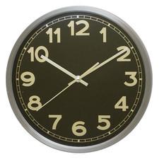 Zegar aluminiowy z metalową tarczą #3