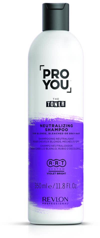 Revlon ProYou The Toner Neutralizing szampon neutralizujący do włosów blond i siwych 350ml