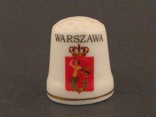 Naparstek ceramiczny - Warszawa