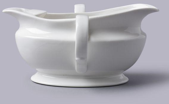 Porcelanowy oddzielacz do tłuszczu 500 ml
