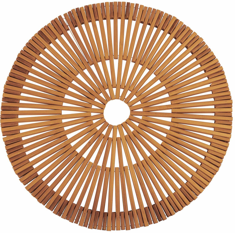 Westmark Podkładka bambusowa, Ręcznie robiona, Okrągła, ø 38 cm, Bambus, Seria Saleen: Rondo, Jasnobrązowa, 701422E1