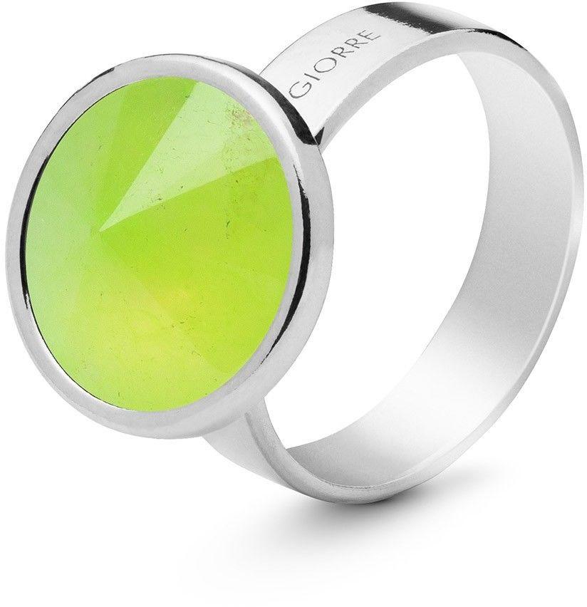 Srebrny pierścionek kamień naturalny chryzopraz, srebro 925 : Kamienie naturalne - kolor - chryzopraz zielony jasny, ROZMIAR PIERŚCIONKA - 11 UK:L 16,00 MM, Srebro - kolor pokrycia - Pokrycie platy