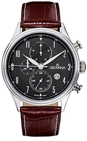 Zegarek Grovana 1192.9537 - CENA DO NEGOCJACJI - DOSTAWA DHL GRATIS, KUPUJ BEZ RYZYKA - 100 dni na zwrot, możliwość wygrawerowania dowolnego tekstu.