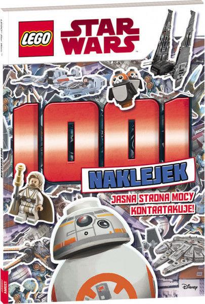 Lego Star Wars 1001 naklejek ZAKŁADKA DO KSIĄŻEK GRATIS DO KAŻDEGO ZAMÓWIENIA