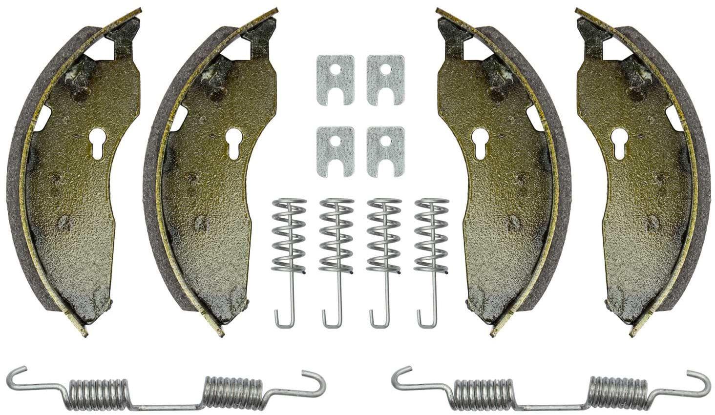 Szczęki hamulcowe do osi AL-KO 160x40 z kompletem sprężyn UNITRAILER