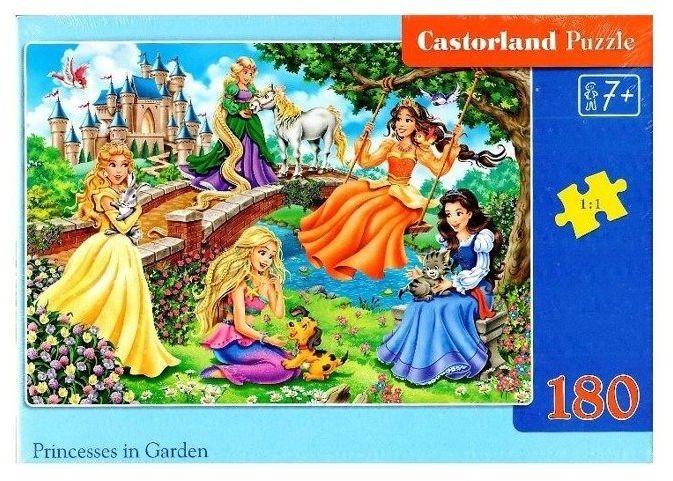 Puzzle 180 Princesses in Garden CASTOR