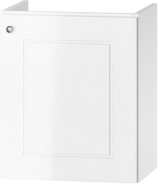 Szafka pod umywalkę VERONA DUM VEA 49 P/L biały połysk  Kupuj w Sprawdzonych sklepach