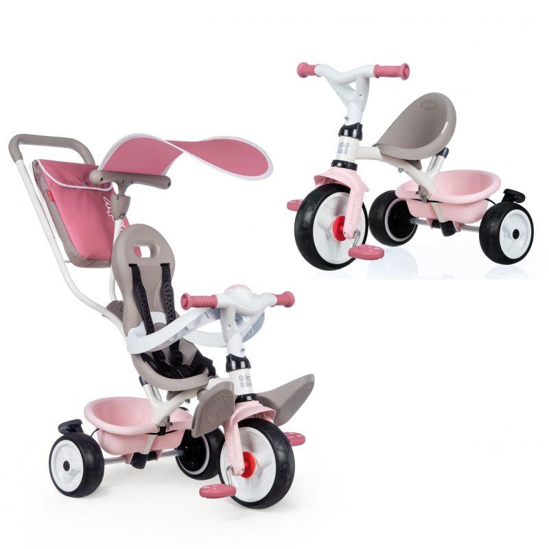 SMOBY Rowerek Trójkołowy Baby Balade plus Różowy LK