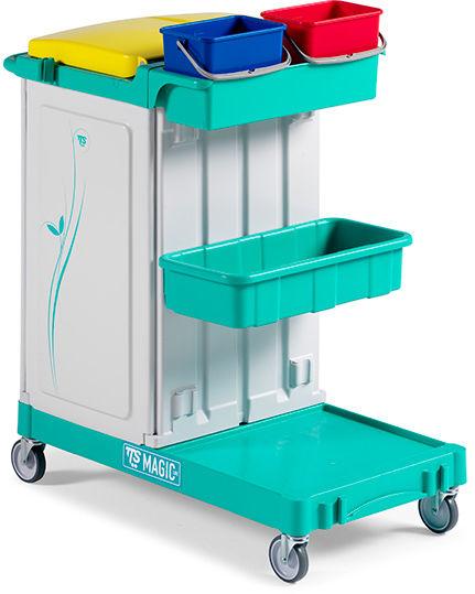 TTS magic Line 110 Professional - wózek serwisowy do sprzątania