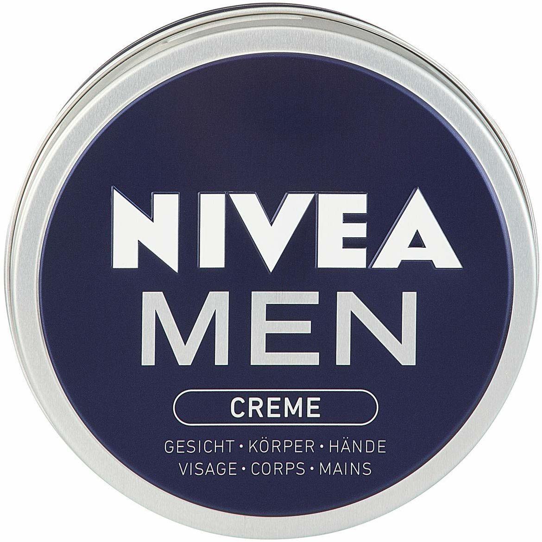 Nivea Men Krem w 1 opakowaniu (1 x 150 ml), krem do skóry twarzy, ciała i rąk, pielęgnujący krem nawilżający o świeżym, męskim zapachu