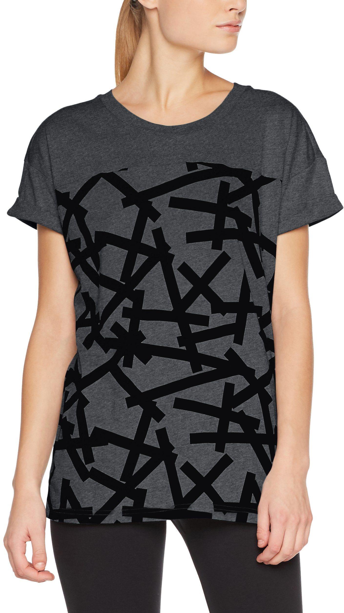 Adidas AOP TEE BLACK - XL