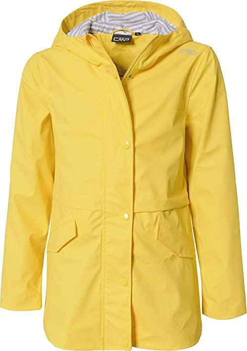 CMP Unisex dziecięca parka, wiatro- i wodoszczelna kurtka 3000 żółty żółty 116