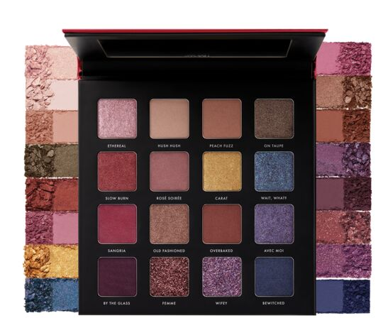 Milani GILDED ROUGE Eyeshadow Palette Paletka cieni do powiek