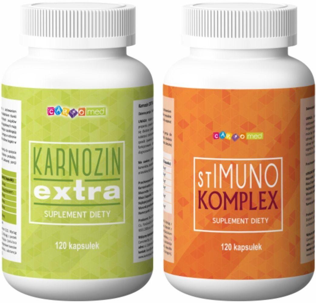 2pak - Karnozin extra (120 kps) + stIMUNO komplex (120 kps)