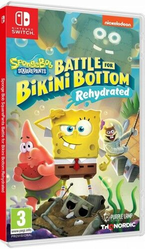 Spongebob Battle for Bikini Bottom NS Używana