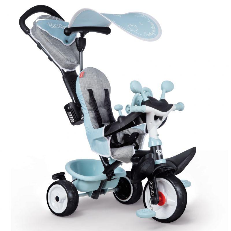 SMOBY Rowerek trójkołowy Baby Driver Komfort plus Niebieski LK