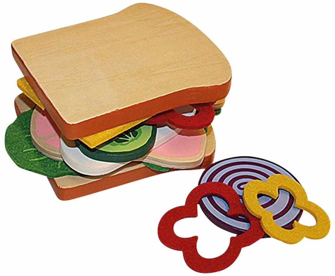 beluga Spielwaren 30885 Fresh & Yummy Food Bag Sandwich 30885-Fresh i Yummy