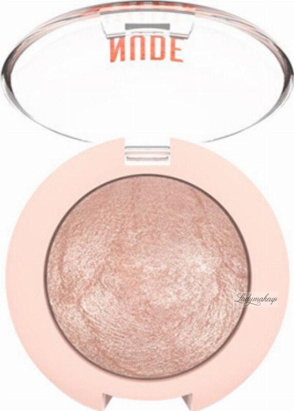 Golden Rose - NUDE LOOK - Pearl Baked Eyeshadow - Perłowy cień do powiek - 01 - IVORY