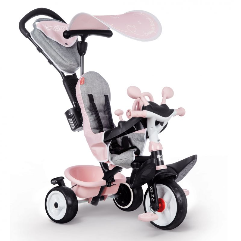 SMOBY Rowerek trójkołowy Baby Driver Komfort plus Różowy LK