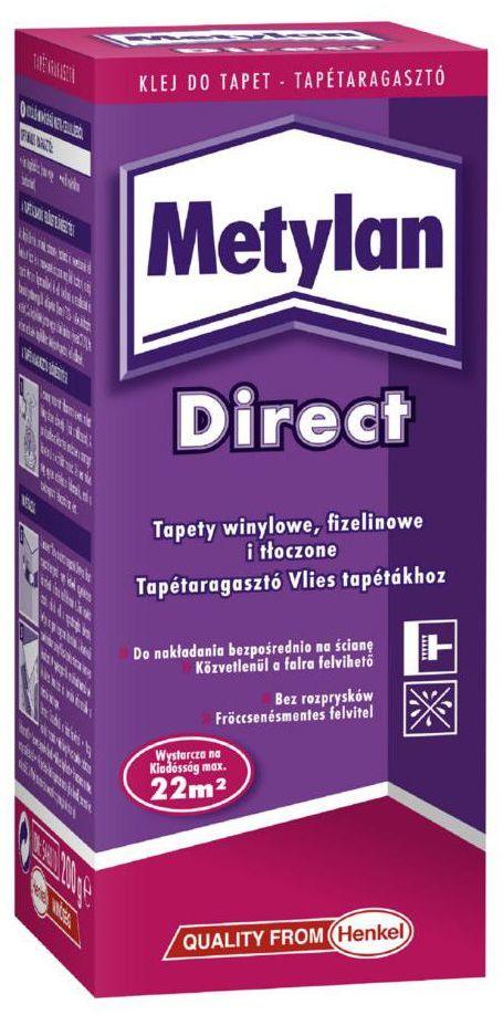 Klej do tapet flizelinowych METYLAN DIRECT 200 g HENKEL