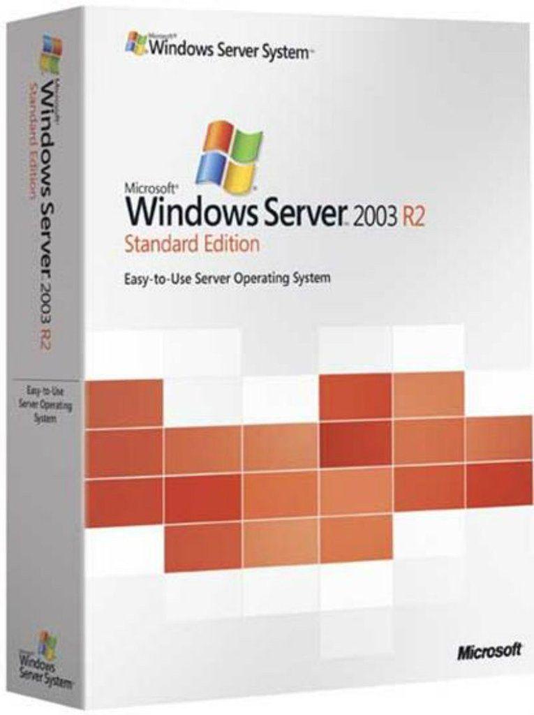 Microsoft Windows Server 2003 R2 SP2 Standard x32 EN BOX (P73-01780)