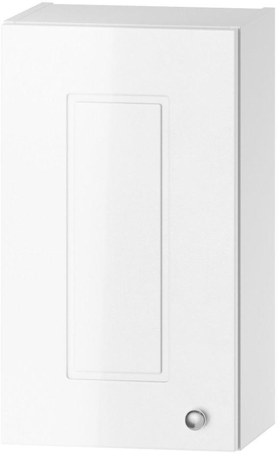 Szafka łazienkowa VERONA W30 P/L biały połysk