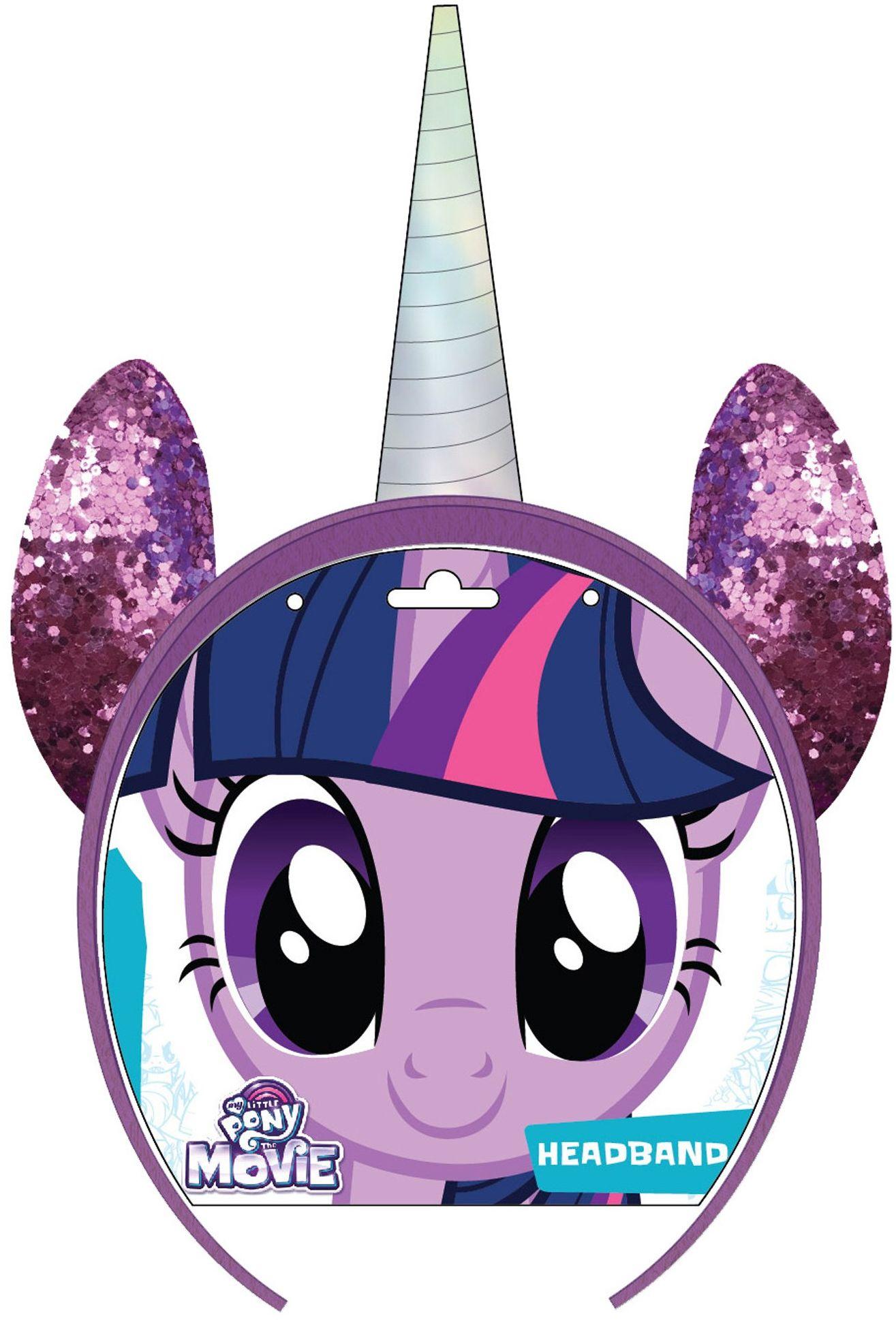 Joy Toy 95086 My little Pony Twilight Sparkle opaska do włosów na karcie backercard, 15 x 15 cm