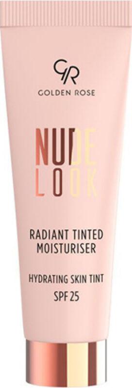 Golden Rose - NUDE LOOK - Radiant Tinted Moisturiser - Koloryzujący krem do twarzy z efektem rozświetlenia - 02 - MEDIUM TINT