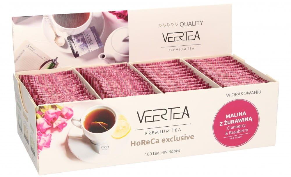 Veertea Cranberry & Raspberry 100 saszetek
