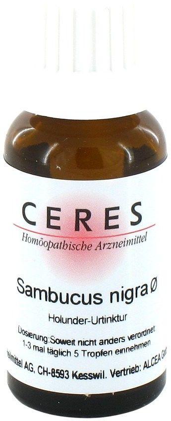 Ceres Sambucus nigra Urtinktur