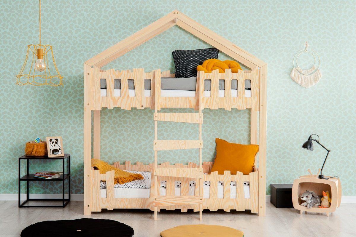 Łóżko piętrowe ZIPPO P 80x160 sosna  Kupuj w Sprawdzonych sklepach