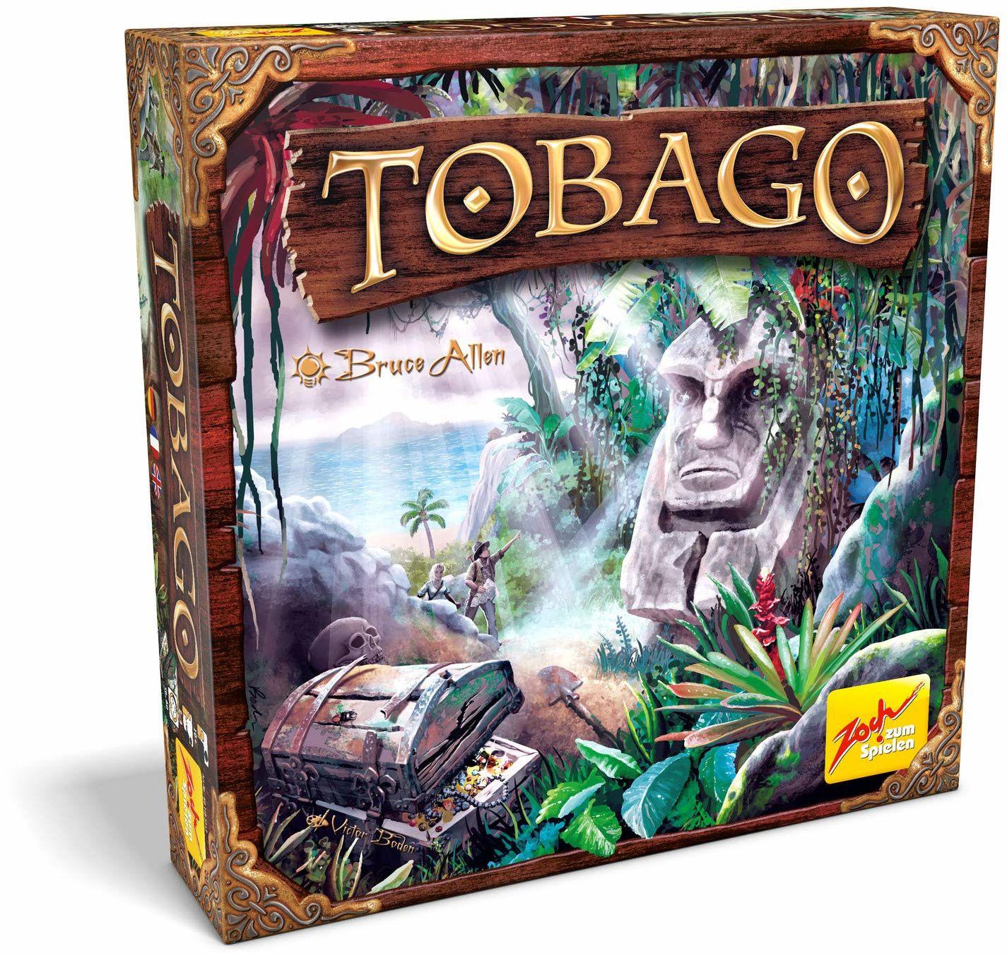 Zoch 601105152  Tobago (nowa edycja)  klasyka gry, rodzinna gra dla dorosłych i dzieci, gra grupowa dla 44231 graczy, od 10 lat