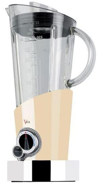 Casa bugatti - blender vela - 146 kryształów swarovski  wokół tarczy - kremowy