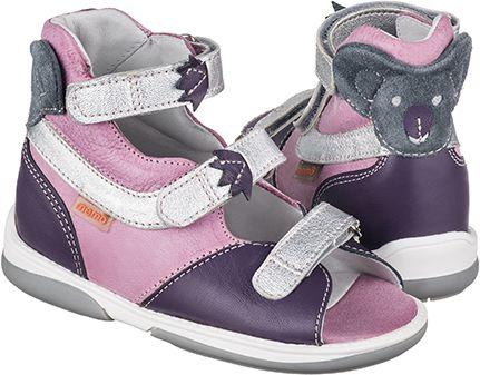 Buciki Memo Mammal- profilaktyczno-korygujące sandały nie tylko do przedszkola (KOALA)