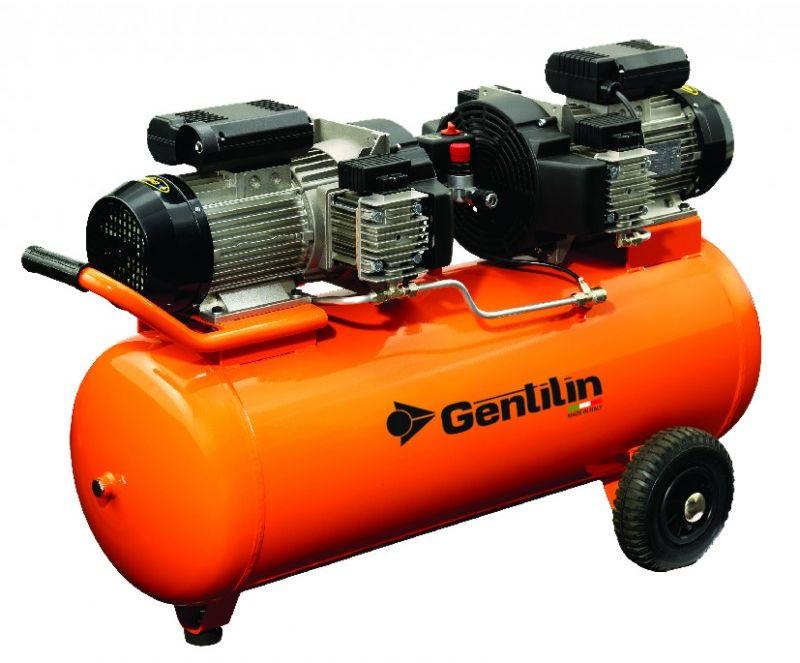 Sprężarka tłokowa bezolejowa Gentilin C660/100