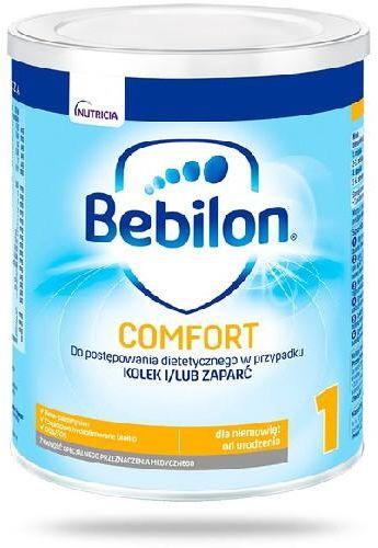 Bebilon Comfort 1 mleko początkowe od urodzenia, na zaparcia i kolki 400 g