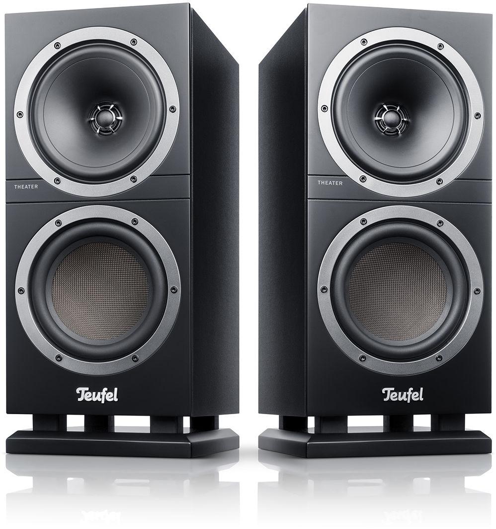 Teufel THEATER 500S, Kolumny stereo czarne