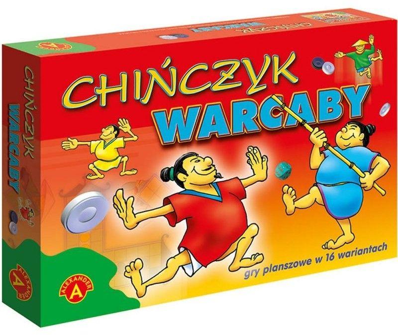 Rodzinna Gra Planszowa Chińczyk i Warcaby
